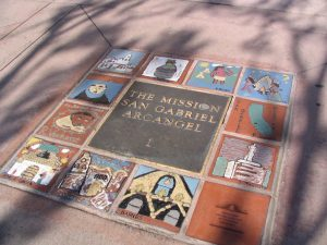 The Mission San Gabriel Arcangel