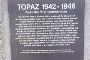 Topaz Central Utah WRA Relocation Center