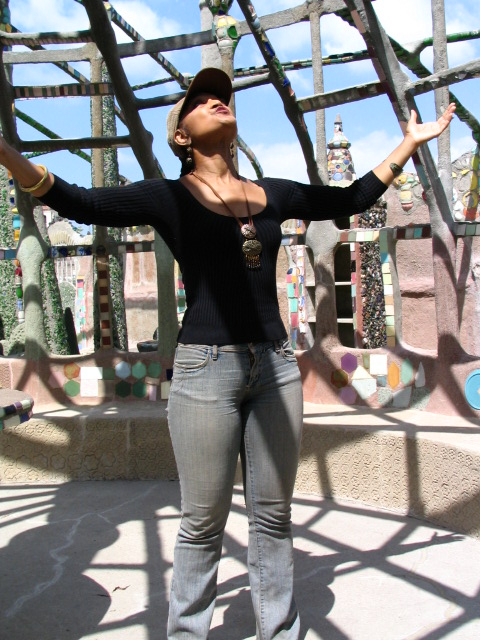 Watts Towers: Syni Patterson 3
