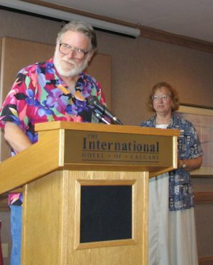 Westercon: John Varley & Connie Willis