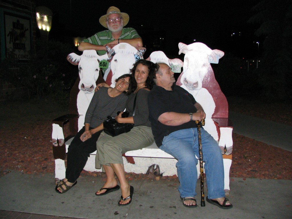 Westercon: John Varley with Marina, Liza & Charles