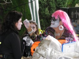 Day of the Dead 2008: face painting