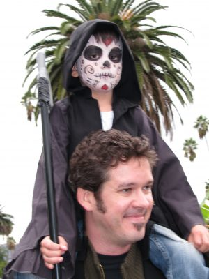 Day of the Dead 2008: father and son