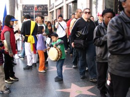Hollywood Antiwar March: Drumming for Peace
