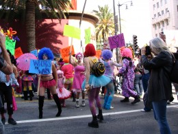 Hollywood Antiwar March: Whores Not Wars