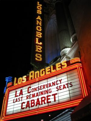 Los Angeles Theater marquee