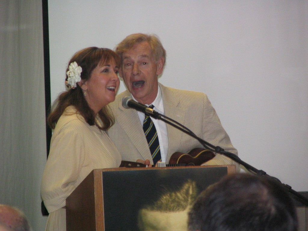 Rudolph Valentino 2008: Ian & Regina Whitcomb