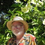 Descanso Gardens: John Varley, angel trumpet flowers