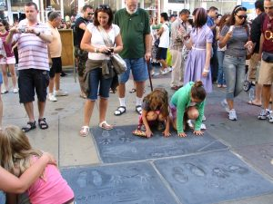 Graumann's Chinese Theater footprints