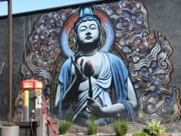 LA Car Wash mural