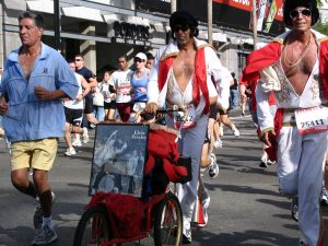 LA Marathon Double Elvis