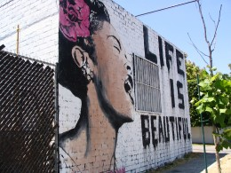 Life Is Beautiful mural