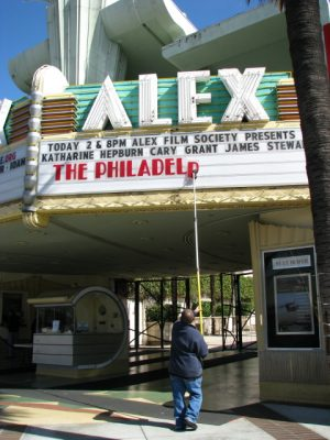 The Alex: marquee