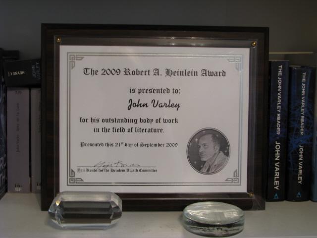 2009 RAH Award Certificate