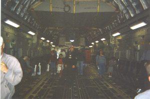C-17 Globemaster interior