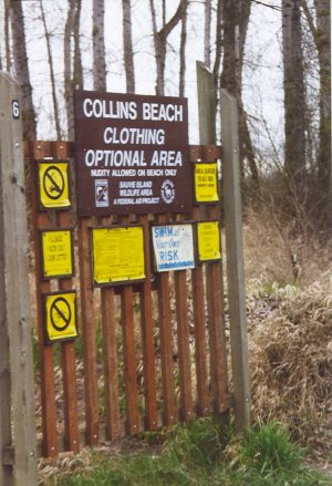 Collins Beach Clothing Optional