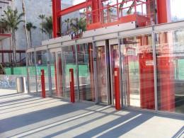 Elevator by Renzo Piano
