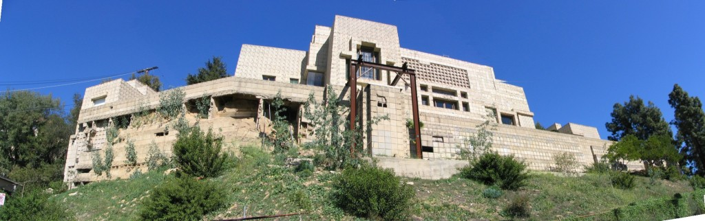 Ennis-Brown House before restoration