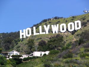 House under the Hollywood sign