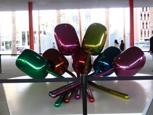"Jeff Koons ""Tulips"""
