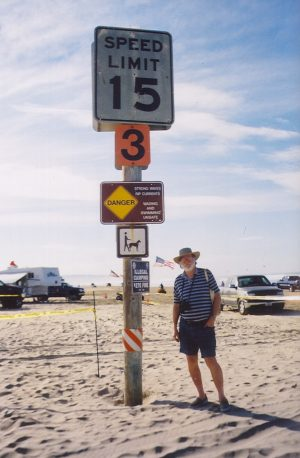 John Varley entrance to Oceano Dunes