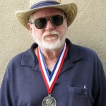 John Varley wearing 2009 RAH Award