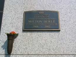 Milton Berle: You filled our lives with laughter and love