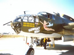 Mitchell B-25 bomber HEAVENLY BODY, 1