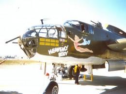 Mitchell B-25 bomber HEAVENLY BODY, 1