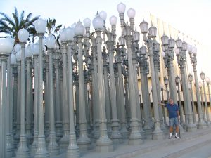 Streetlights by Chris Burden, day