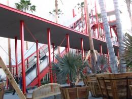The Spider escalator corner of Palm Garden